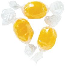 Sugared Lemon Ovals Candy