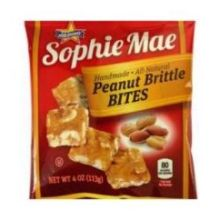 Sophie Mae Peanut Brittle Bites Candy