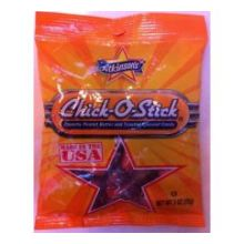 Chick O Stick Candy in Peg Bag