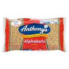 Alphabets Pasta