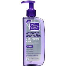 Advantage Acne Control 3 in 1 Foaming Wash