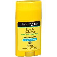 Beach Defense SPF 50 Plus Water Plus Sun Protection Sunscreen Stick