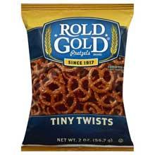 Classic Single Serve Tiny Twists Pretzels