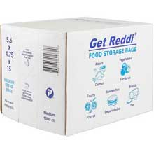Get Reddi Large 5 x 4 x 18 Medium Bread Bag
