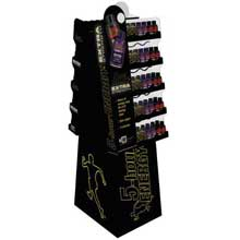 Extra Strength Energy Shots 2 Sided Floor Display