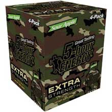 Sour Apple Extra Strength Shots