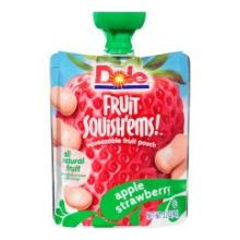 Fruit Squishems Apple Strawberry Fruit Snack
