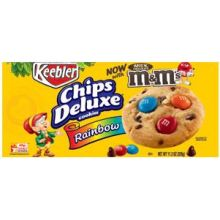 Chips Deluxe Rainbow Chocolate Chip Cookie