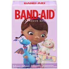 Band-Aid Brand Adhesive Bandages Assorted Sizes 20 ct Box