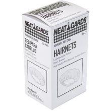 Nylon Dark Brown Light Weight Large Disposable Hairnet
