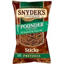 Salted Pretzel Sticks