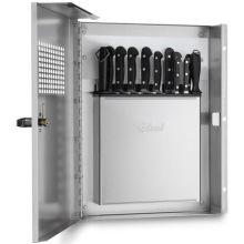 Locking Knife Cabinet with Keyed Locking Handle