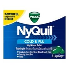 Cold and Flu Nighttime Relief LiquiCaps