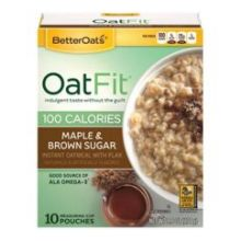 Oat Fit Maple and Brown Sugar Oatmeal