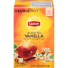 Vanilla Black Tea K Cup Pods