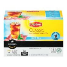 Classic Iced Unsweetened Black Tea K Cup
