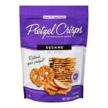 Sesame Pretzel Crackers
