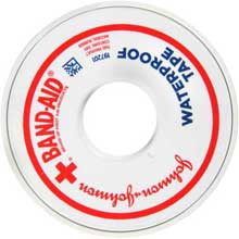 Johnson and Johnson Band-Aid 1 in. Heavy-Duty Waterproof Tape 10 yd. Roll
