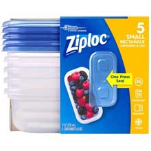 Small Rectangle One Press Container