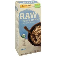 Raw Pure and Simple Organic Bare Hot Cereal