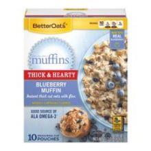 Blueberry MMM Muffins Oatmeal