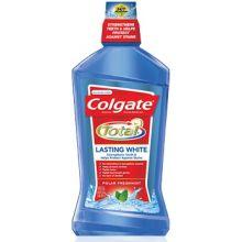 Lasting White Anticavity Polar Freshmint Fluoride Mouthwash