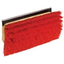Bi Level Floor Scrub Brush with Squeegee and Handle