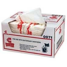 Towel Sanitizer Pro Quat Medium Heavy Duty White