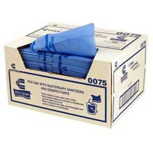 Towel Poly/Rayon Blue Dispensered Non Woven Medium Weight