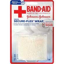 Johnson and Johnson Band-Aid Medium 2 in. Secure-Flex Wrap 2.5 yd. Roll