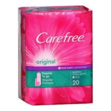 Carefree Original Regular To Go Scented Pantiliner with Baking Soda