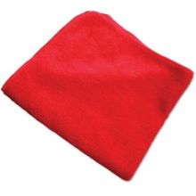 Red Microfiber Multi Purpose Cloth