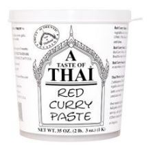 Red Curry Paste Tub