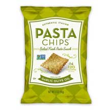 Pasta Chips Garlic Olive Oil Pasta Chips