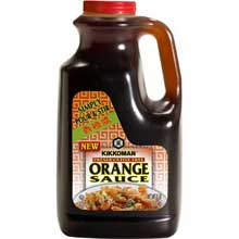 Preservative Free Orange Sauce