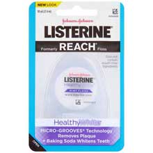 Listerine HealthyWhite Mint Floss 30 yd. Pack