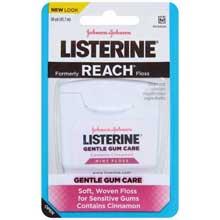 Listerine Gentle Gum Care Mint Floss 50 yd. Pack