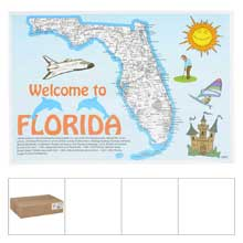 Heavy Weight Welcome To Florida Stock Designs Bond Paper Placemat