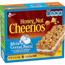 Honey Nut Milk N Cereal Bar