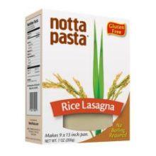 Rice Lasagna Pasta