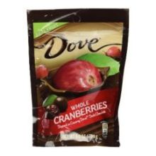 Silky Smooth Dark Chocolate with Whole Cranberries