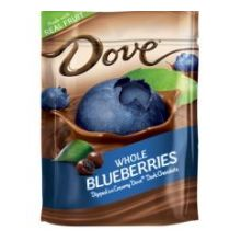 Silky Smooth Dark Chocolate with Whole Blueberries