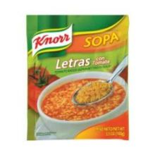 Tomato Based Alphabet Pasta Soup