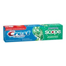 Complete Whitening Plus Scope Minty Fresh Striped Toothpaste