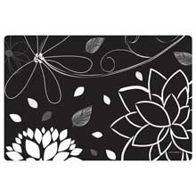 Midnight Floral Paper Placemat