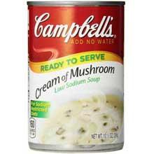 Low Sodium Cream of Mushroom Condensed Soup
