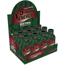Extra Strength Strawberry Watermelon Energy Shots