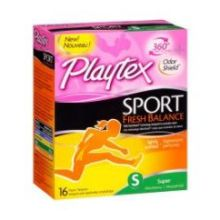 Sport Fresh Balance Scented Super Absorbency Plastic Tampon