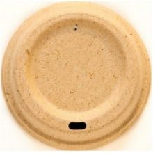 Natural Fiber Hot Cup Lid Only