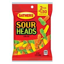 Sour Heads Candy